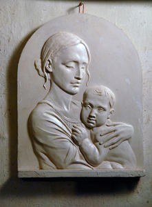 Selivanov V. / Filatov hospital plaque relief to Academician Tabolin / gypsum / 2009
