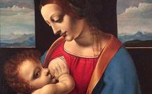 Анфилова Е. / Копия с Леонардо да Винчи «Мадонна Литта» / холст / масло / 1999