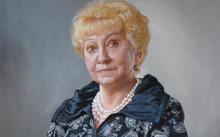 Anfilova E. / Portrait of G. A. Odintsova / canvas / oil / 2010
