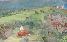 Селиванов В. / Анфилова Е. / Росписи дома в альпийском стиле / 2011-2012