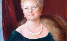 Анфилова Е. / Портрет Н. С. Жуковой / холст / масло / 2005