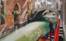 Anfilova E. / Venice / canvas / oil / 2010