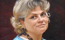 Anfilova E. / Portrait of Kirina / canvas / oil / 2008