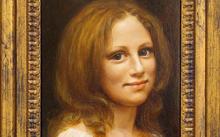 Анфилова Е. / Портрет Маши Кириной / холст / масло / 2004