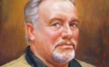 Анфилова Е. / Портрет В. П. Жукова / холст / масло / 2004