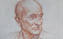 Селиванов В. / Папа / сангина / графит / 2009