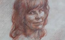 Селиванов В. / Ольга Крамаренко / сангина / графит / 2007