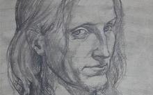 Селиванов В. / Портрет Супереко / уголь / 2008