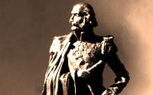 Селиванов В. / Эскиз памятника генералиссимусу Витгенштейну / тон. гипс / 2012