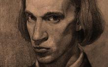 Селиванов В. / Автопортрет / графит / 1992