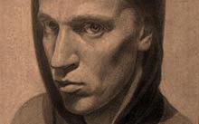 Селиванов В. / Автопортрет / графит / 1990