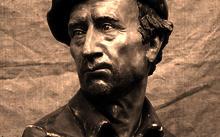 Селиванов В. / портрет Н. А. Селиванова / тон. гипс / 1990