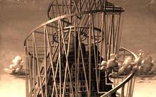 Селиванов В. / Вторая Вавилонская башня / дерево / масло / 1995-2005