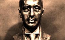 Селиванов В. / Н. С. Гумилев / бронза / 2007