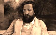 Anfilova E. / Portrait of Korsakov / canvas / oil / 2015