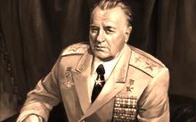 Anfilova E. / Portrait of air marshal I.I. Pstygo / canvas / oil / 2004