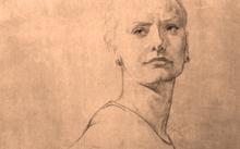 Селиванов В. / Татьяна / сангина / уголь / 2011