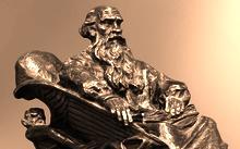 Селиванов В. / Л. Н. Толстой (модель памятника) / бронза / 2013