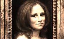 Anfilova E. / Portrait of Masha Kirina / canvas / oil / 2004